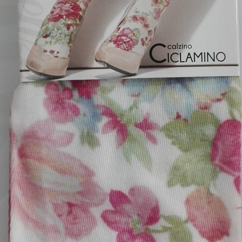 calcetin-blanco-flores-rosas-ciclamino-transparenze-1