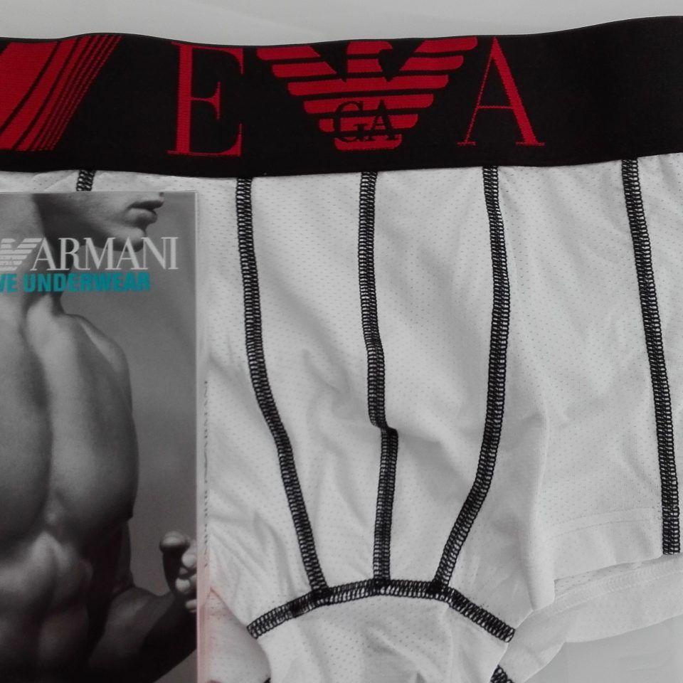 Boxer-individual-microfibra-transpirable-blanco-cintura-goma-negro-logo-en-rojo-training-emporio-armani-1