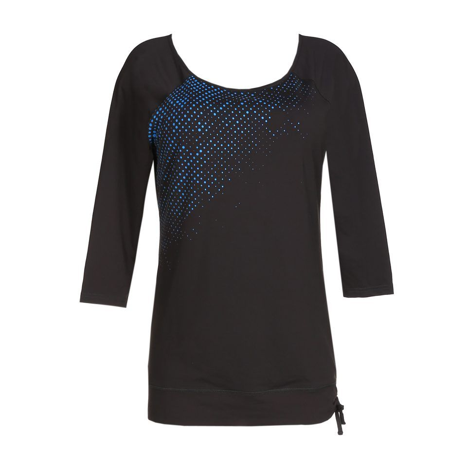 camiseta-deporte-manga-larga-gris-tejido-elástico-cuello-amplio-nudo-cadera-the-workout-primadonna-1