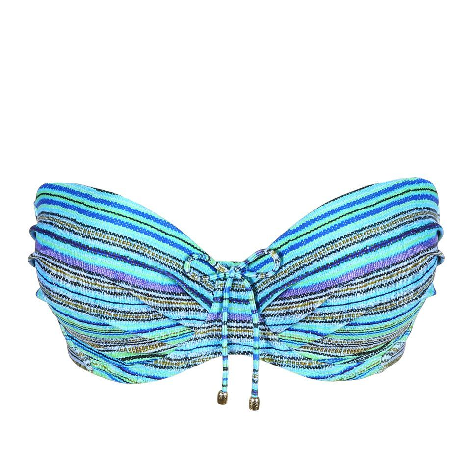 bikini-top-sin-tirantes-con-aro-y-foam-azul-rayas-rumba-primadonna-copa C-D-E-F-G-1