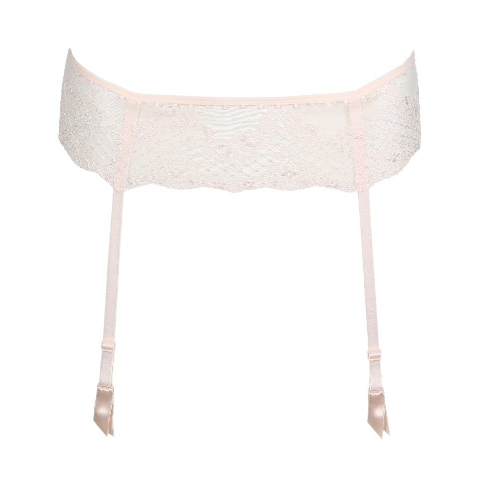 liguero-rosa-pálido-complemento-sexy-femenino-encaje-pearl-marie-jo-1
