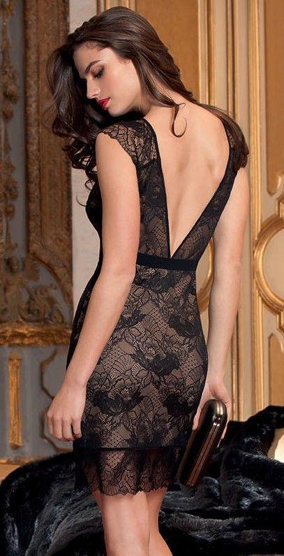 Vestido-lise-charmel-dentelle-design-encaje-negro-1